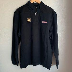 Army Knights Vineyard Vines Quarter-Zip Jacket